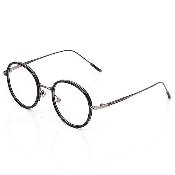 Óculos de Grau Clos Redondo Preto
