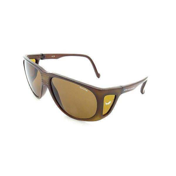 Óculos de Sol Prorider Retro Marrom Translúcido - 426