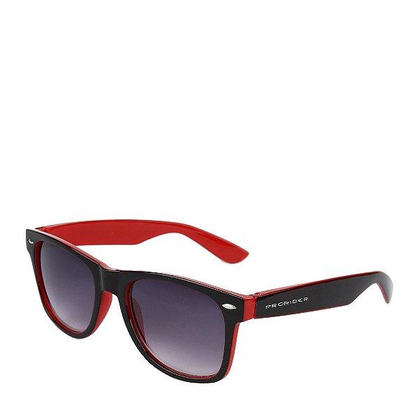 Óculos de Sol Prorider Preto e Vermelho - Ax10443