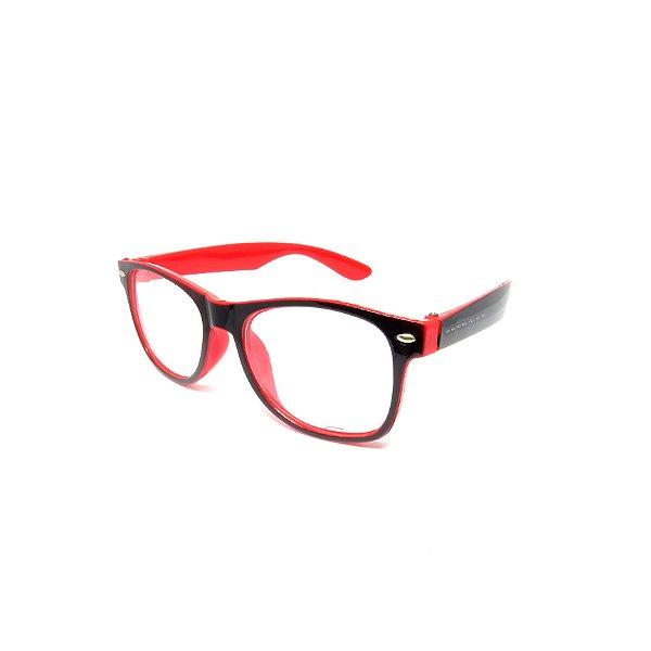 Óculos de Grau Prorider Infantil Preto e Vermelho - 2020-11