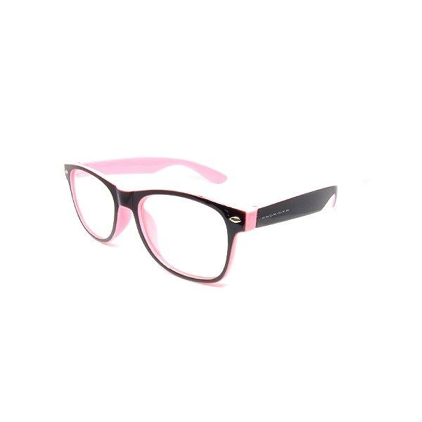 Óculos de Grau Prorider Infantil Preto e Rosa - 2020-10