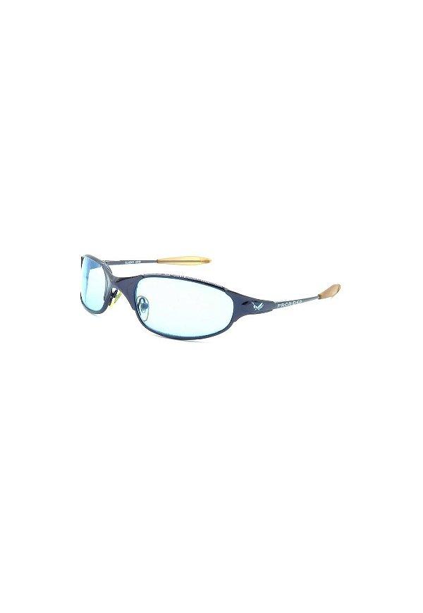 Óculos de Sol Retro Prorider Preto com lente azul - 524