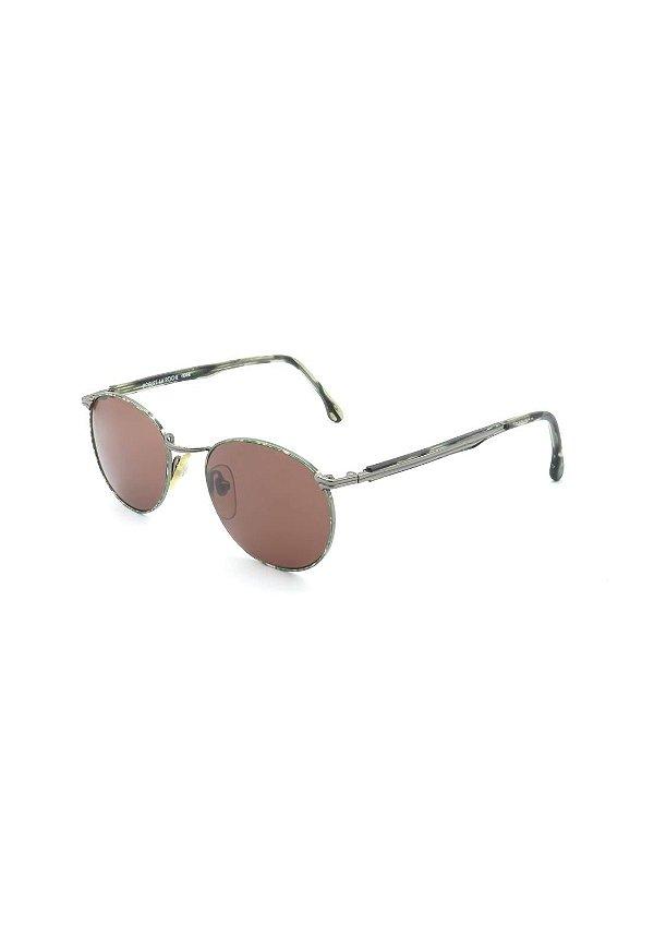 Óculos De Sol Prorider Retro Prata Com animal print - 138