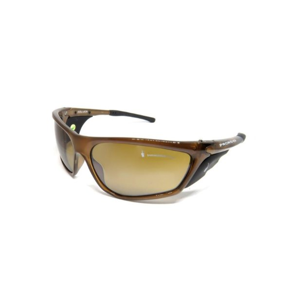 Óculos de Sol Prorider Retro deserto e escalada MARROM -SILVER