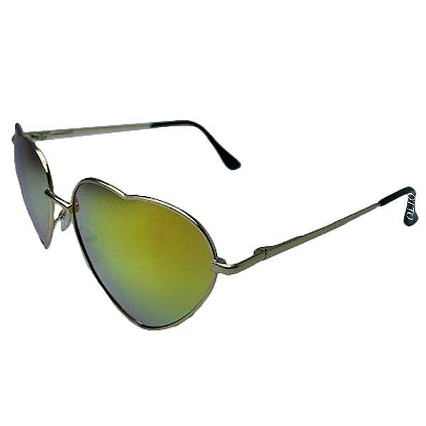 Óculos de Sol Feminino Otto Coração