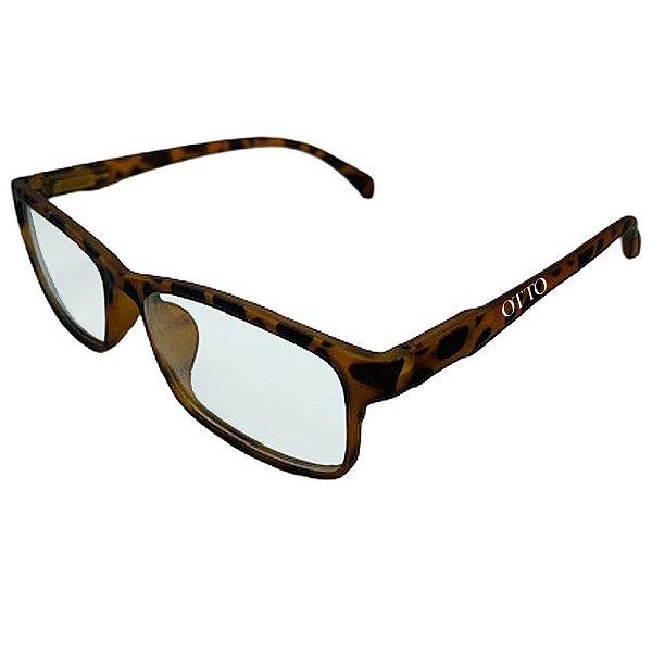 Óculos de Grau Masculino Otto Retangular