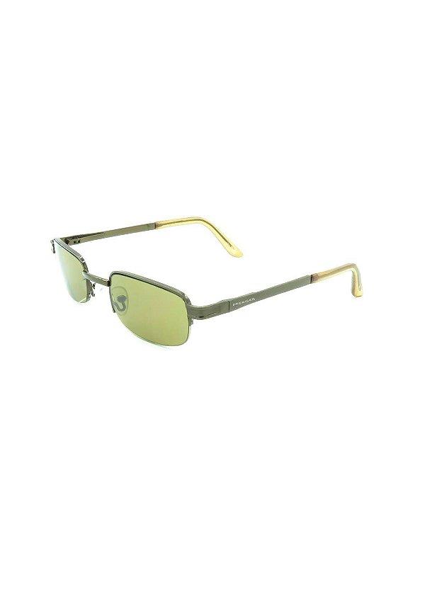 Óculos Solar Prorider retro grafite com lente verde- BX003