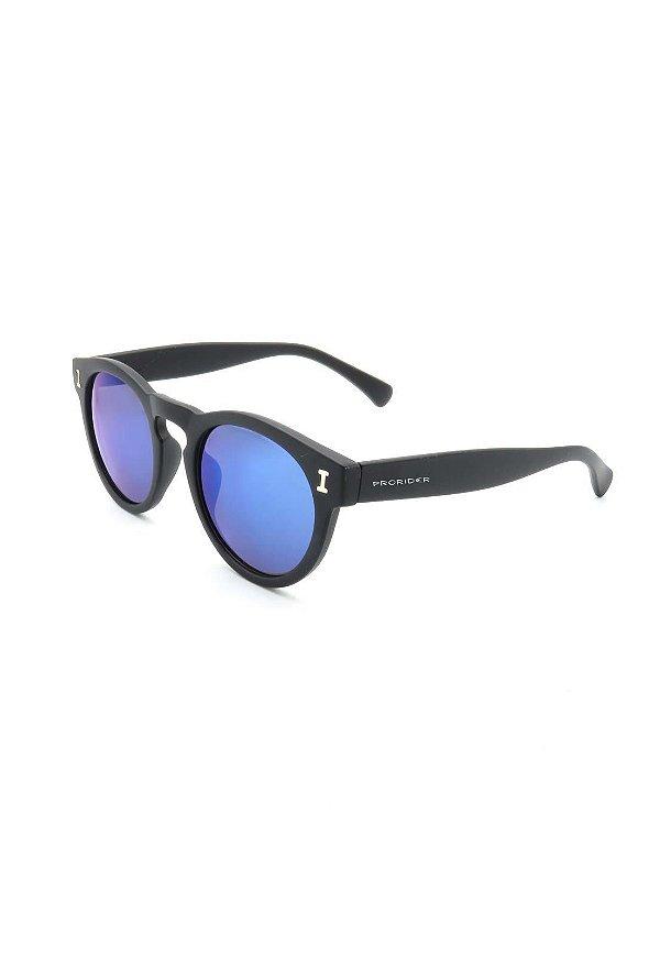 Óculos de Sol Prorider Preto Fosco com lente espelhada - RM5021