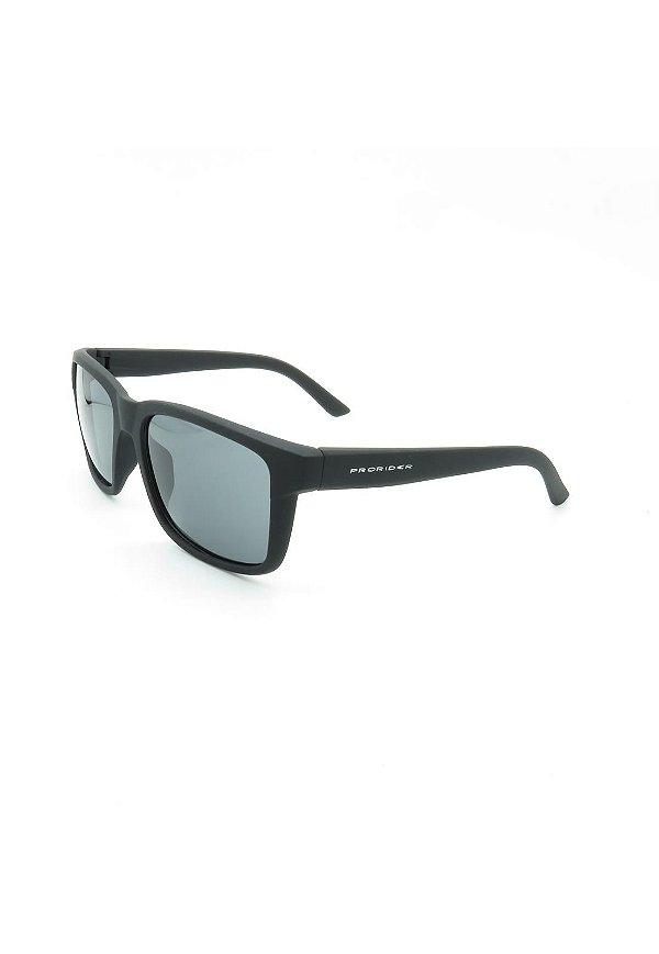 Óculos de Sol Prorider Preto com lente espelhada Prata- D4445-2