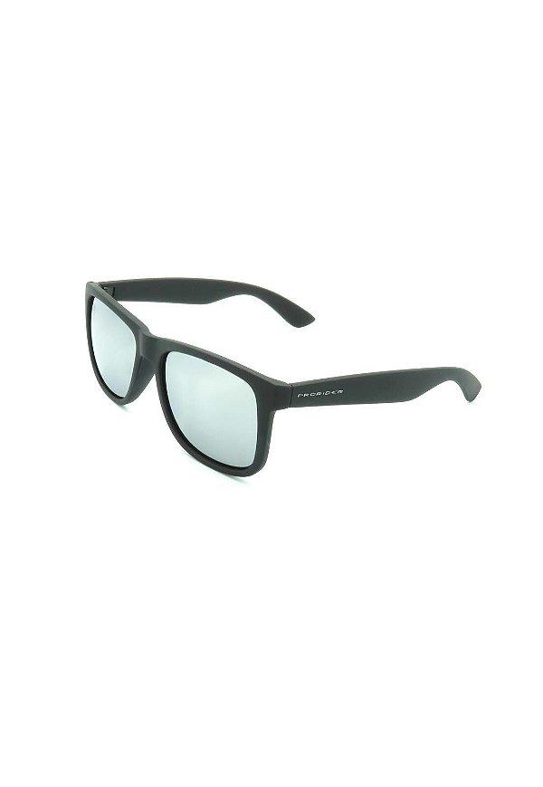 Óculos de Sol Prorider Preto Fosco com Lente Espelhada - HJ03