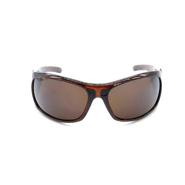 Óculos de Sol Prorider Retro Marrom Detalhado - YD801