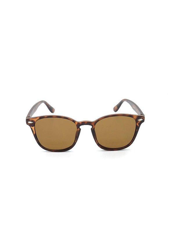 Óculos de Sol Prorider Animal Print Fosco com Lente Degrade - HP0071C7