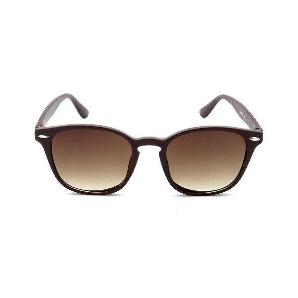 Óculos de Sol Prorider Marrom Fosco com Lente Degrade - HP0071C4