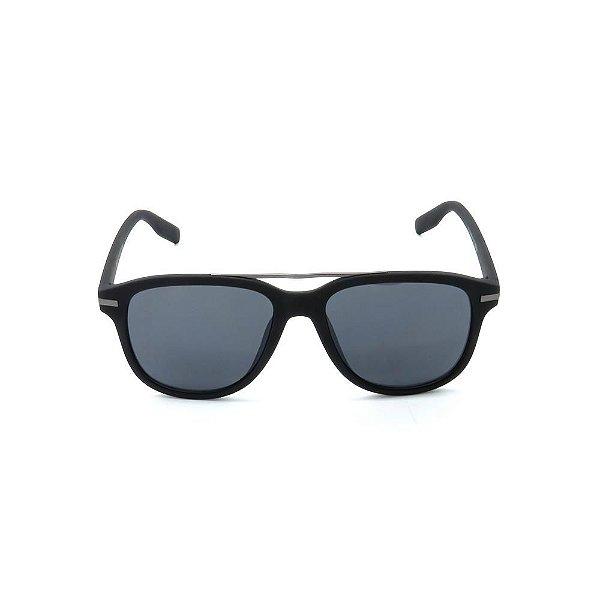 Óculos de Sol Prorider Preto Fosco Retro - LM9312