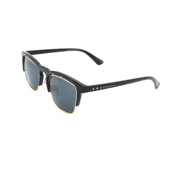 Óculos de Sol Prorider preto e dourado com lente fume - PTDGM2021