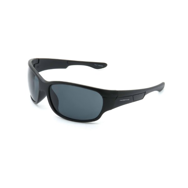 Óculos de Sol Prorider Retrô Preto Fosco Detalhado com Lente Fumê - SP56697