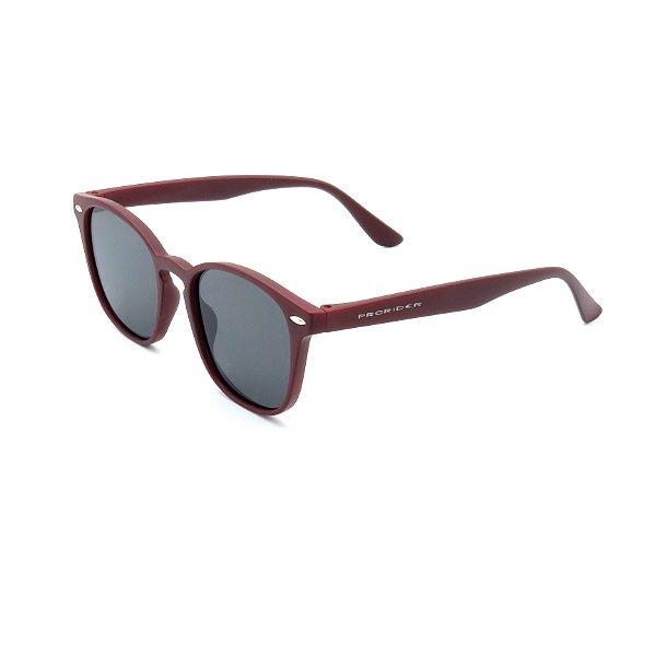 Óculos Solar Prorider Vermelho Com Lente Fumê - HP0071