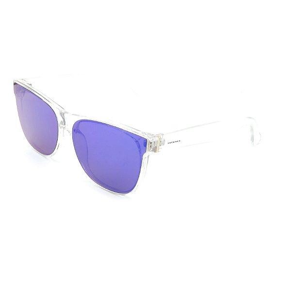 Óculos de Sol Prorider Translúcido Com Lente Roxo - B88-1364-3
