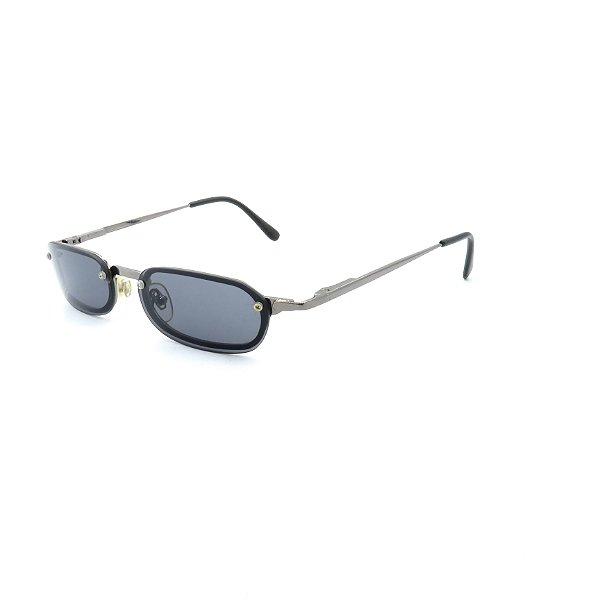 Óculos de Sol Prorider Retrô Prata com Lente Fumê - ODV111147