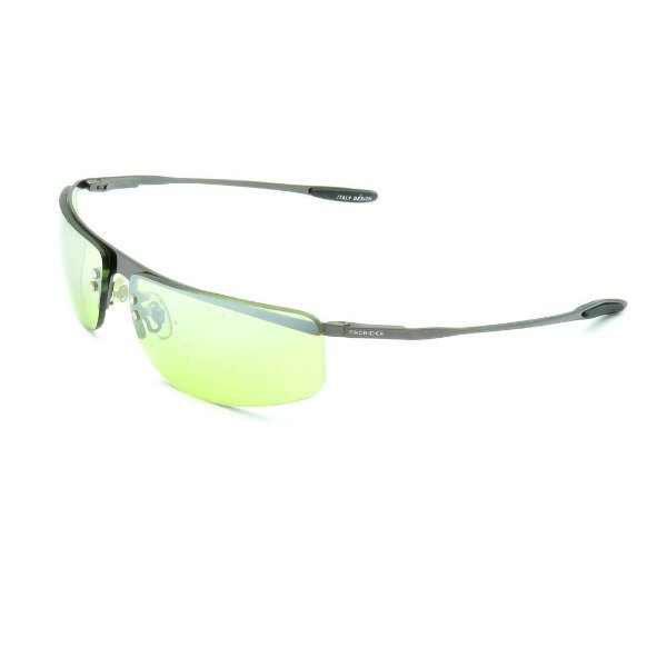 Óculos de Sol Prorider Retrô Prateado Brilhante com Lente Verde - HS5292C1