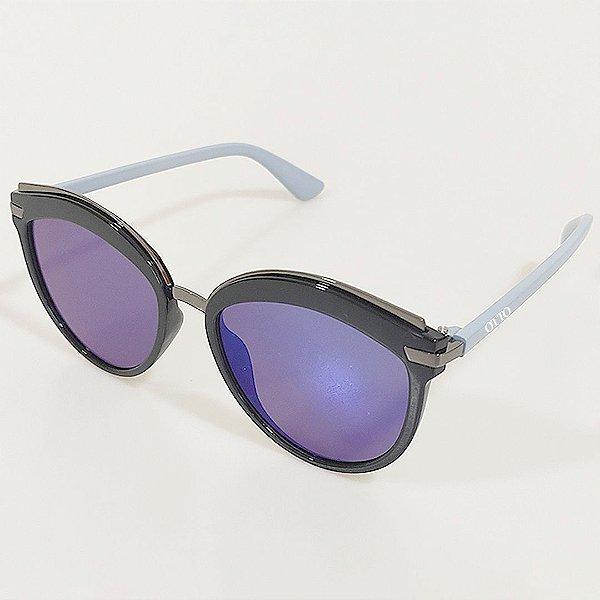 Óculos de Sol OTTO Gatinho Azul e Preto
