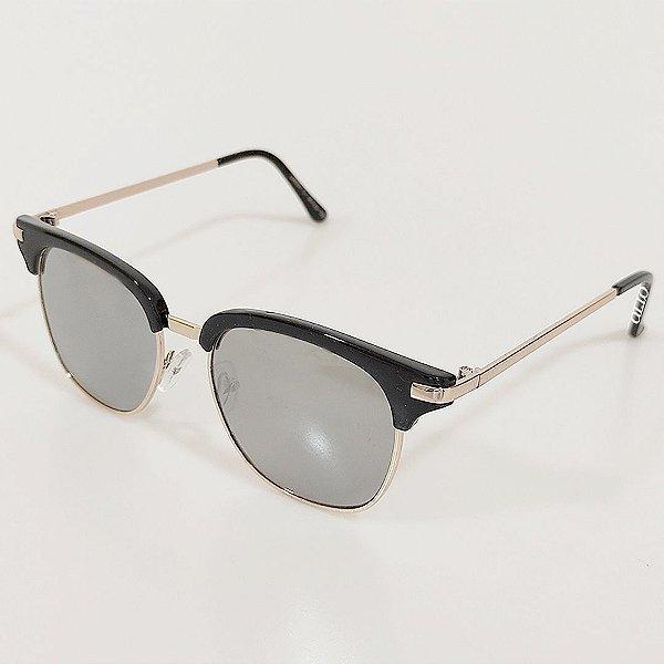 Óculos de Sol OTTO Quadrado Preto