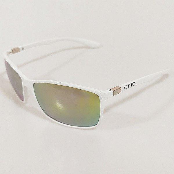 Óculos de Sol OTTO Quadrado Branco