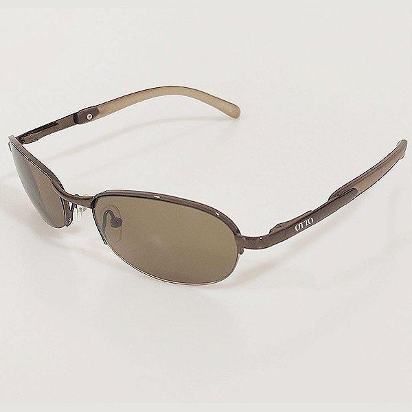 Óculos de Sol OTTO Arredondado Marrom