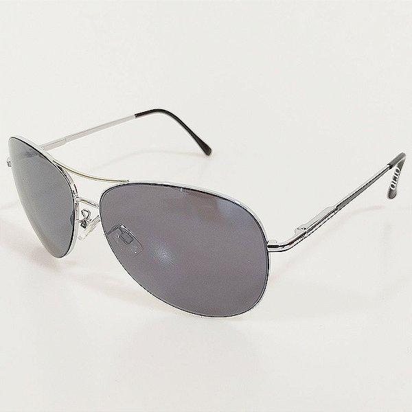 Óculos de Sol OTTO Aviador em Metal Monel® Prata