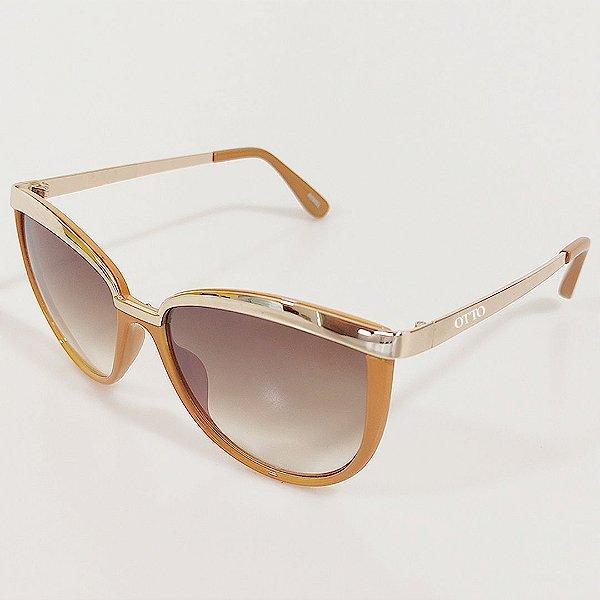 Óculos de Sol OTTO Gatinho Creme