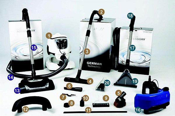 Kit 3 = VIVENSO STANDARD + Escova elétrica + Kit SEK