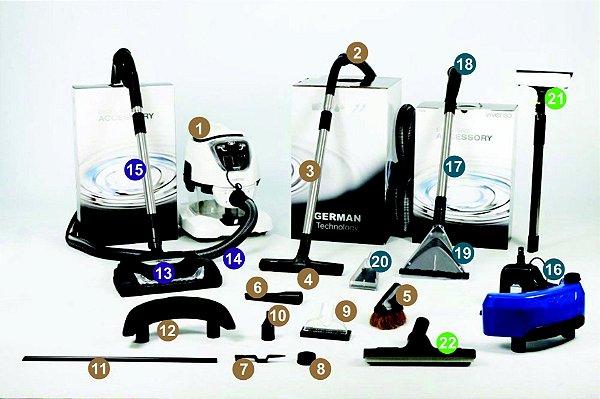 Kit 4 = VIVENSO STANDARD + Escova elétrica + Kit SEK + Acessórios SEK Full