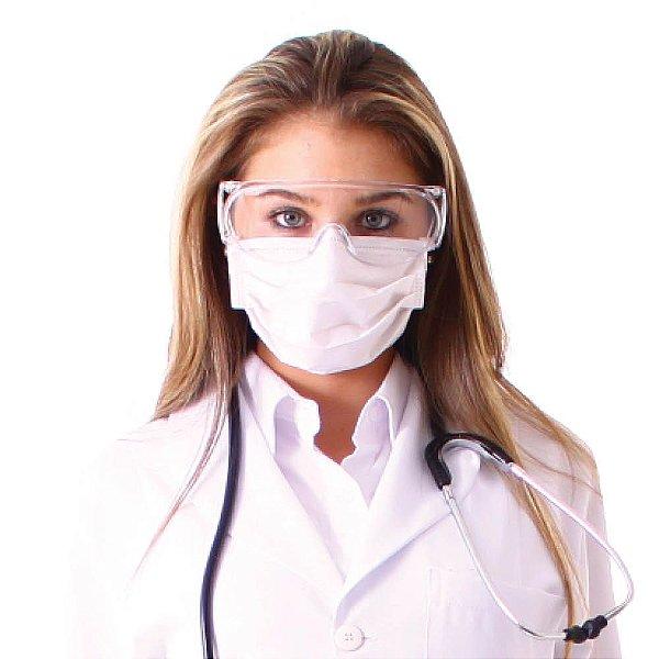 Kit de Proteção Facial em TNT com 50 unidades