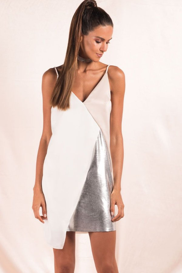 Vestido Light Venus Prata