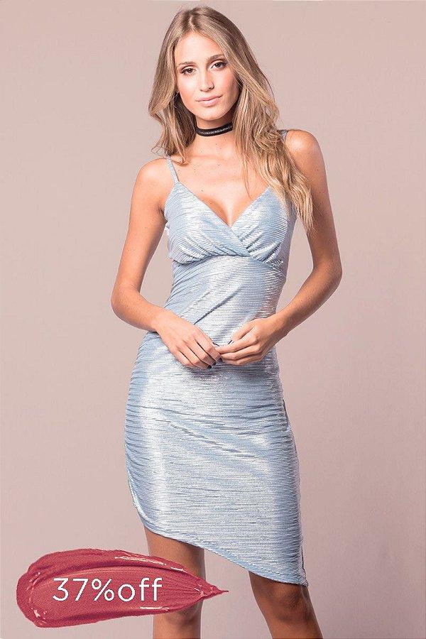 Vestido Cristal Blue