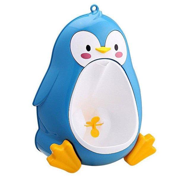 Mictório Infantil Pinguim Azul