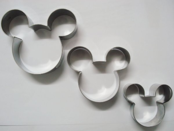 Cortadores de alimentos Ratinho (Mickey inspired)