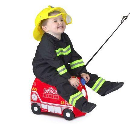 Mala Infantil Trunki Frank Firetruck (Bombeiro)