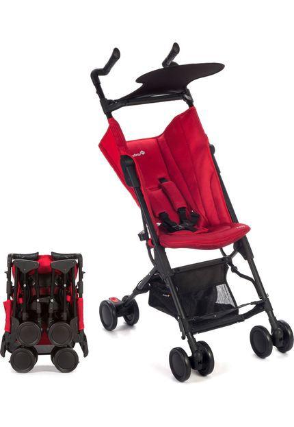 Carrinho de Bebê Safety 1st Pocket Zippy Full Red