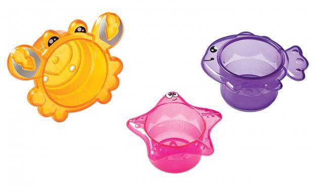 3 Potes para o Banho