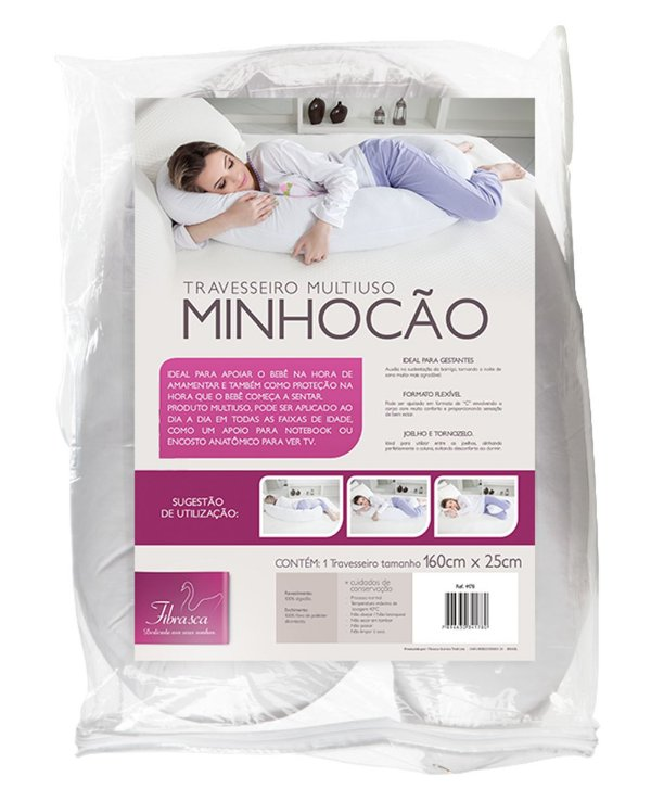 Travesseiro Minhocão