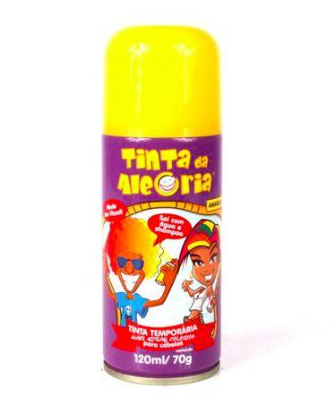 Tinta spray para colorir cabelos