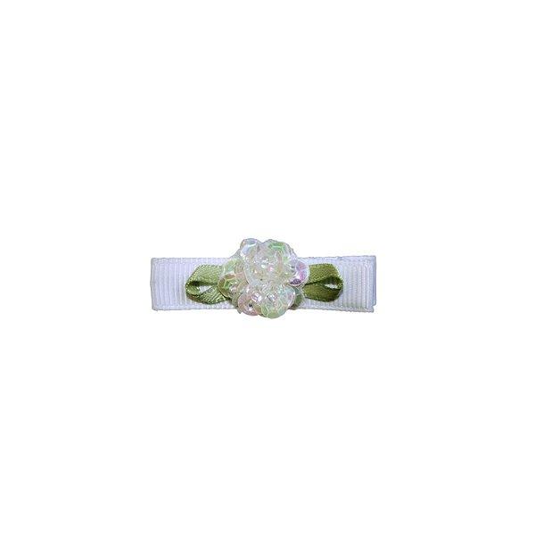 Laço em Gorgurão Baby Rosa Crystal