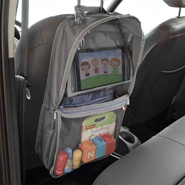 Organizador para carro com compartimento para tablet Fisher Price