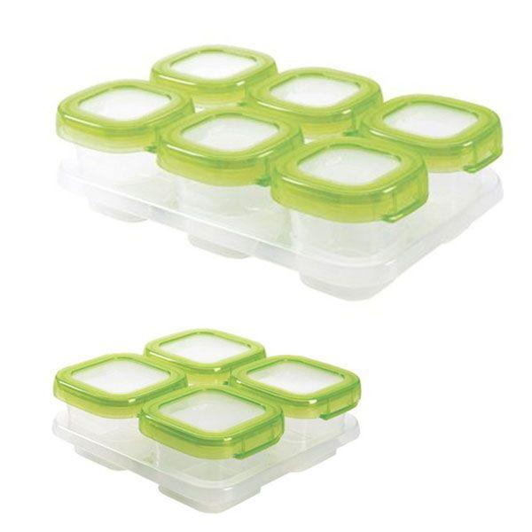 Kit com 10 potes de armazenamento com tampa Oxo Tot