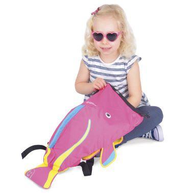 Mochila Infantil Paddlepak Trunki Pink