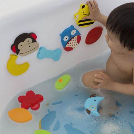 Kit Brinquedo Infantil para banho Skip Hop (24 peças)