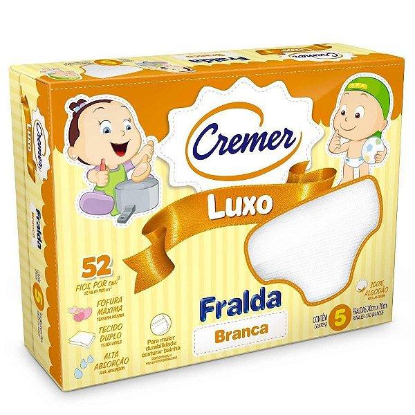 Fralda Branca Cremer Luxo