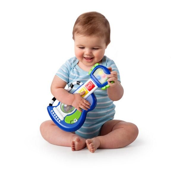 Guitarra Rock Luzes & Roll Baby Einstein