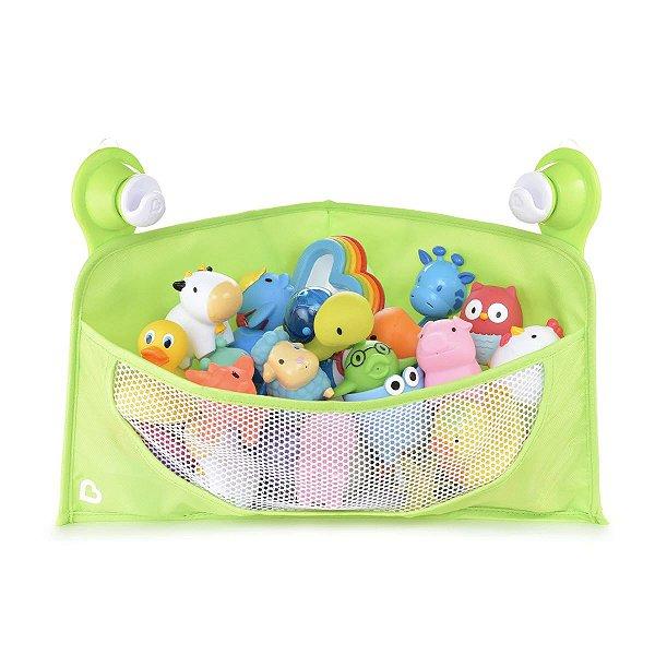 Cesta Organizadora para Brinquedos de Banho Verde